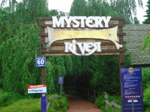 Mystery River Eingang